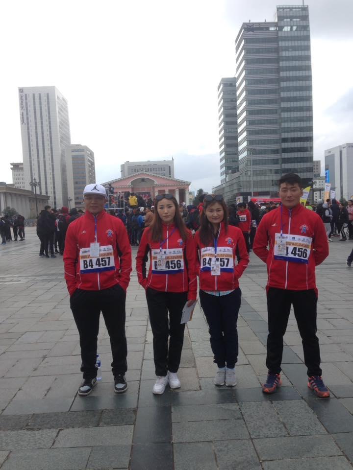 """""""Үзэсгэлэнт Улаанбаатарын цом"""" өртөөт марафонд амжилттай оролцлоо."""